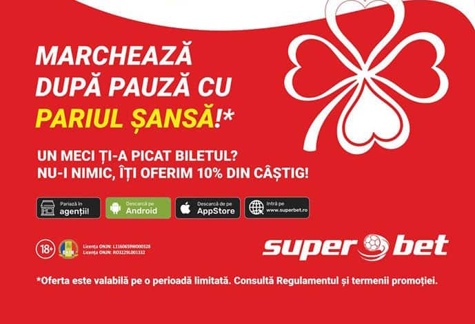 Pariul Sansa Superbet
