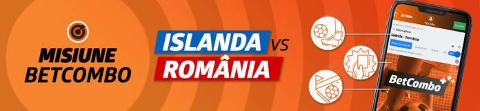 50 RON Freebet pentru Islanda - România