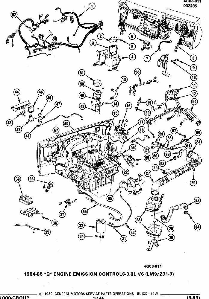 Servicing Gm S 3800 V6 Engines. Diagram. Auto Wiring Diagram