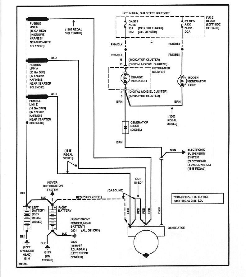 1984 buick grand national wiring diagram 1987 buick regal grand