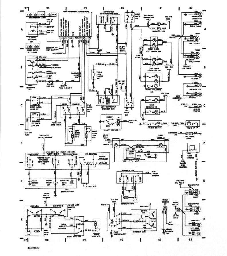 Delco Power Antenna Relay Diagram : 33 Wiring Diagram