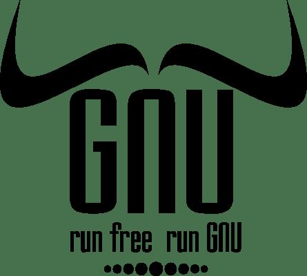 [GNU Horned Word Logo]