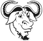 tête de GNU (constrastée)