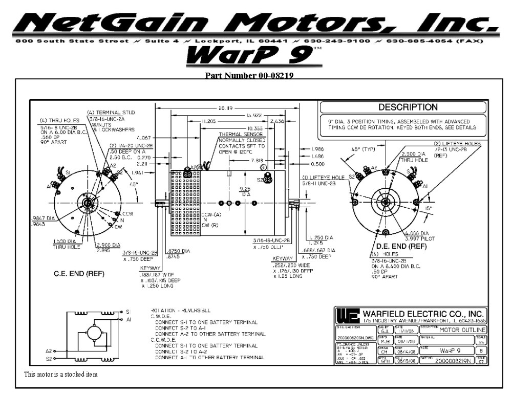 medium resolution of ev motor wiring diagram
