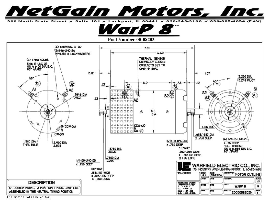 Warp 9 Motor Torque