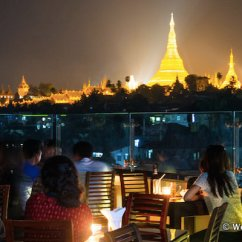 Sofaer Cafe Yangon Turner Sofas Molteni C Eating Drinking And Nightlife In Rangoon Go Myanmar Com Vista Bar With View Of Shwedagon Pagoda