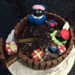 Recept – Zwarte Pieten Taart / KitKat Sinterklaas taart