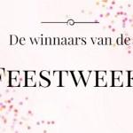 Winnaars van de Feestweek!