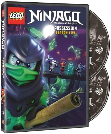 DVD LEGO NInjago