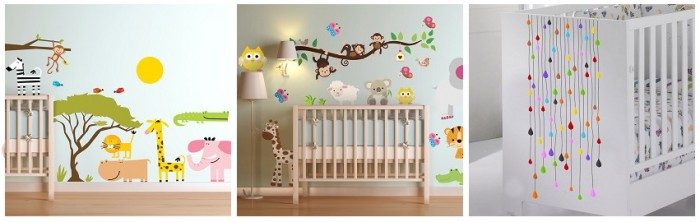 Babykamer stickers tenstickers