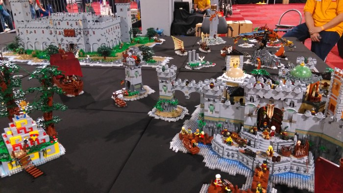 Lego World 2016 kastelen