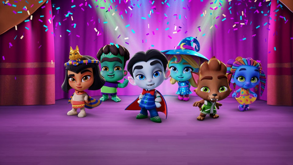 super monsters zijn enge monsters op netflix