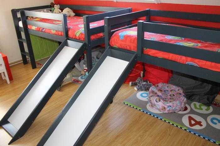 tweeling kamer halfhoogbed