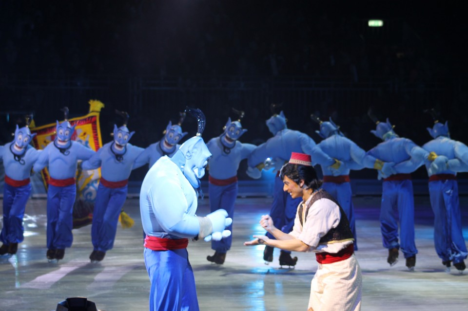 review disney ice alladin