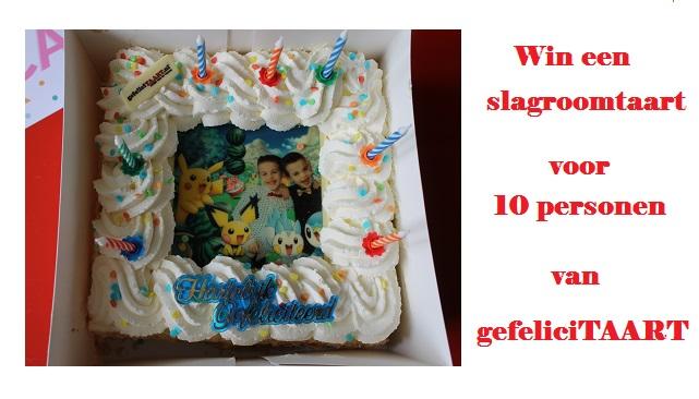 Win een slagroomtaart van gefeliciTAART.nl