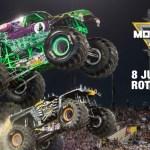 160 km per uur, 4500 kg en 11 meter hoog: Monster Jam is back!