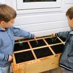 Samen tuinieren met kinderen