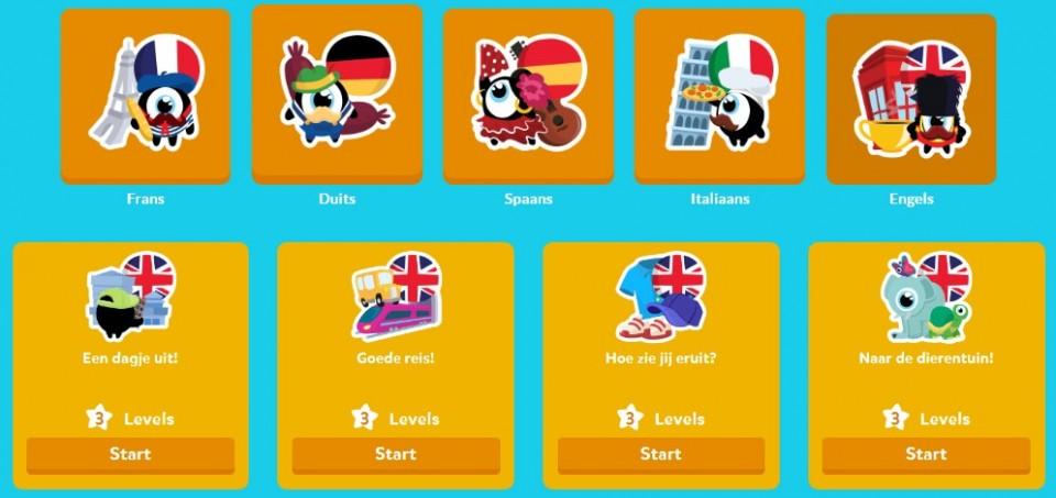 Kind buitenlandse taal leren