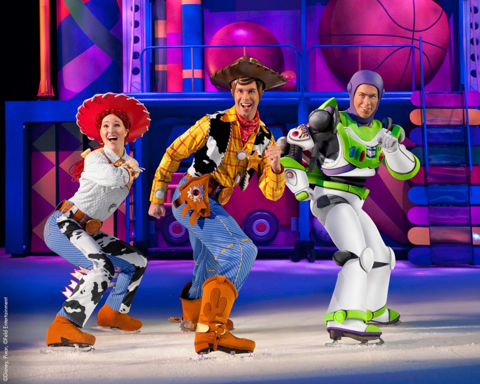 betoverende werelden disney on ice