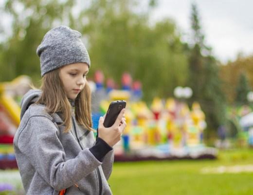 Smartphone tiener tieners