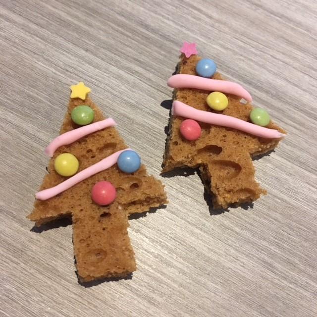simpel kersthapje voor school