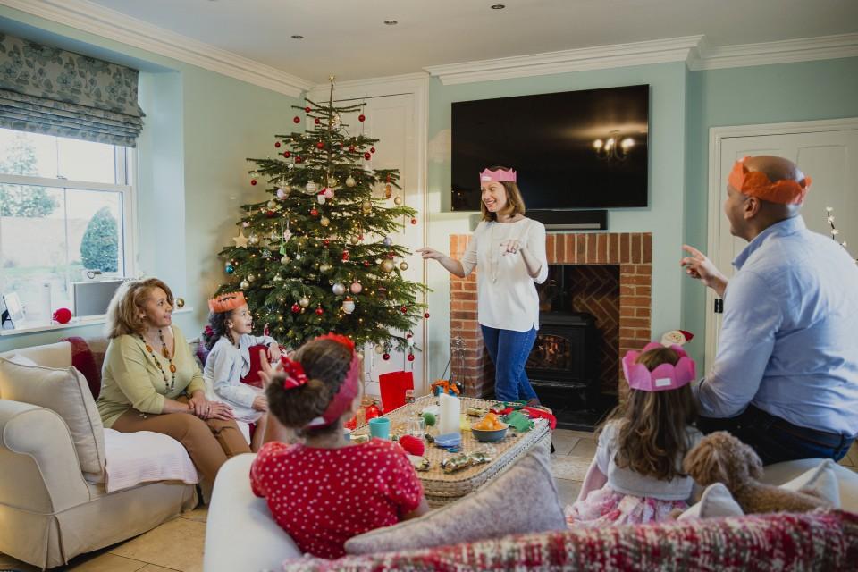 Bedwelming Kerst spelletjes voor kinderen en volwassenen - Go or No Go @YR27