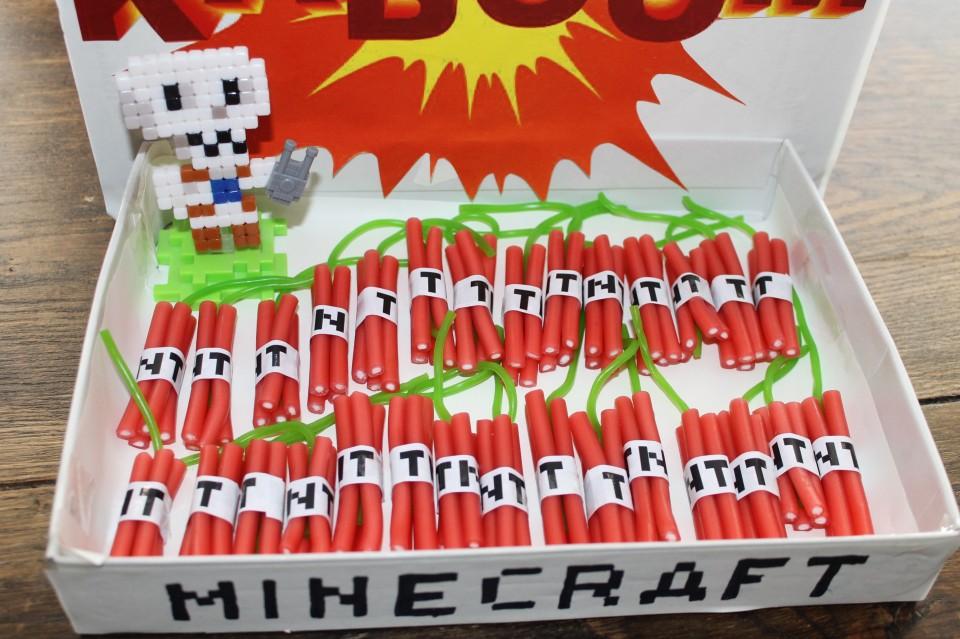 How To Een Super Leuke En Simpele Minecraft Tnt Traktatie Go Or No Go
