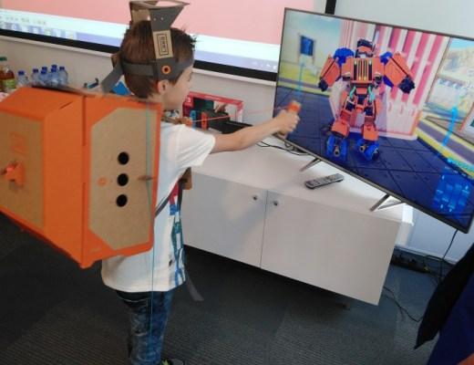 Nintendo Labo robot leeftijd