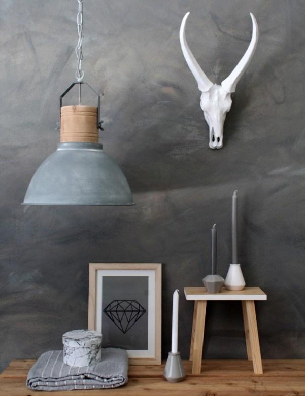 beton hanglampen