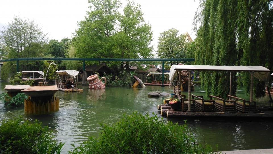 europa-park bootjes varen