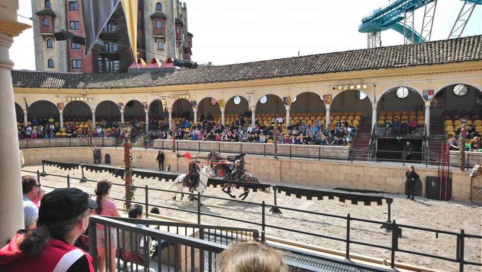 europa-park arena paarden show