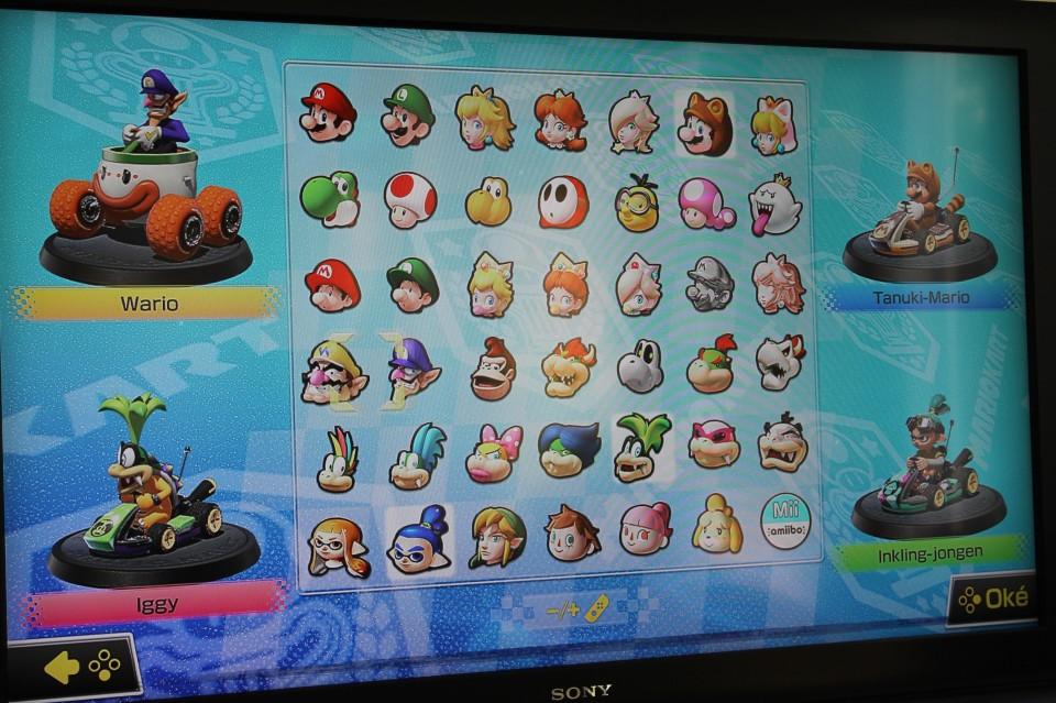 Nintendo Switch kart