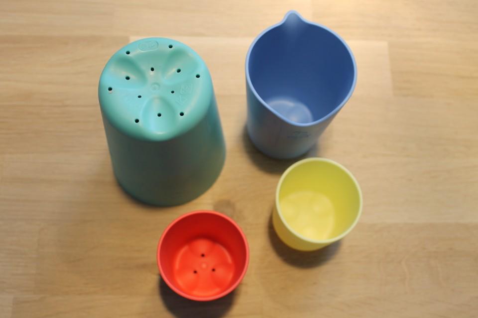badspeeltjes stokke cups