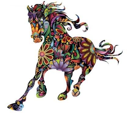 paarden sticker