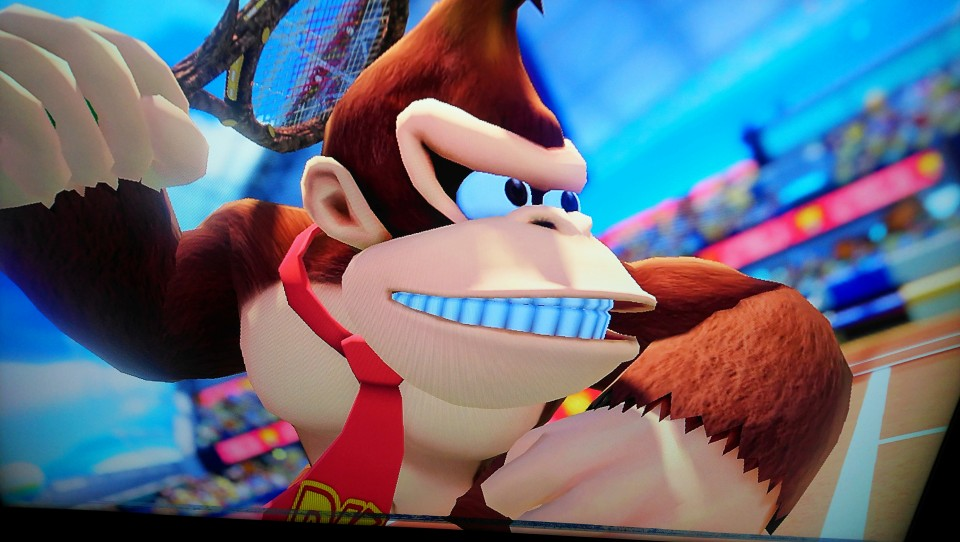Mario Tennis Aces review donkey kong