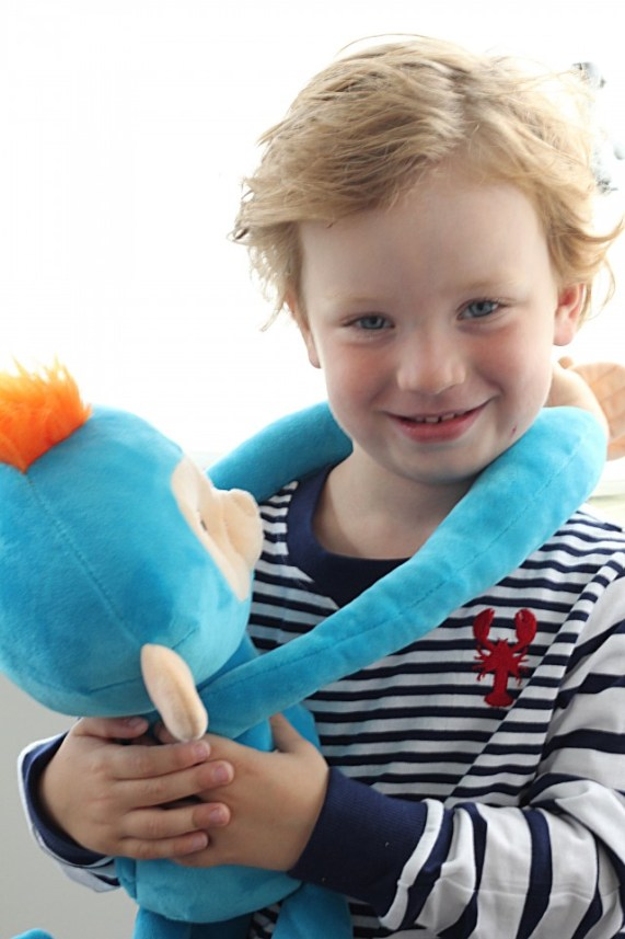 Fingerlings HUGS aapje leuk kind 4 jaar