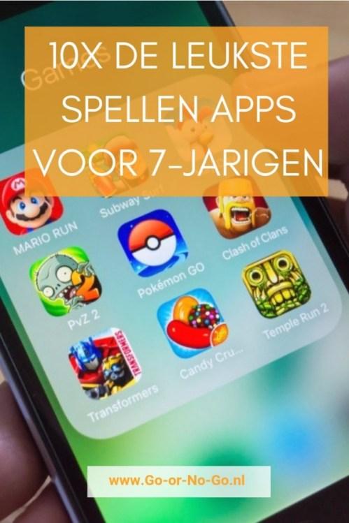 10 leukste spellen apps voor kinderen van 7 jaar
