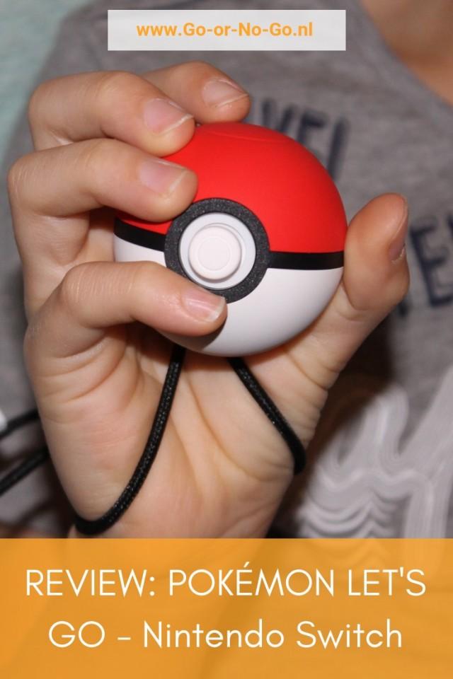 Review: Pokémon Let's Go met Poké Ball Plus