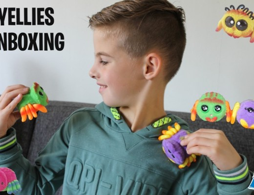Yellies unboxing spinnen