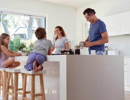 keukeninrichting Ideale gezinskeuken l-vorm keuken voor een gezin