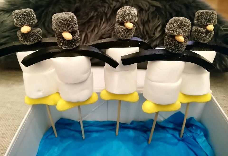 Een leuke en simpele pinguïn traktatie