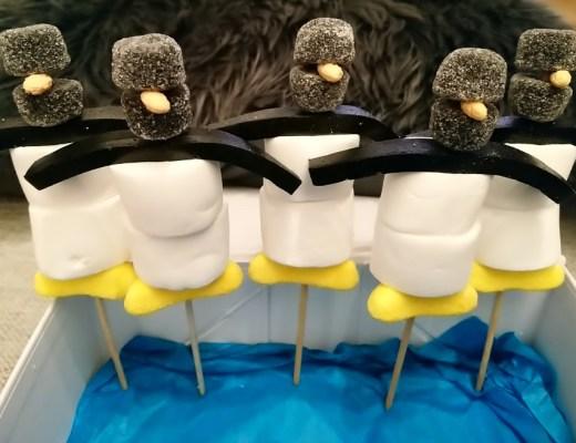 leuke en simpele pinguin traktatie