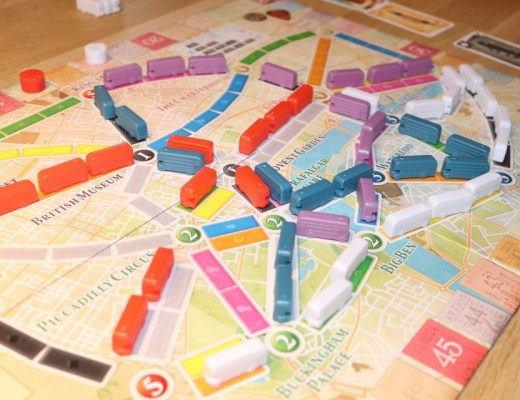 { Review } | Ticket to Ride London spel review