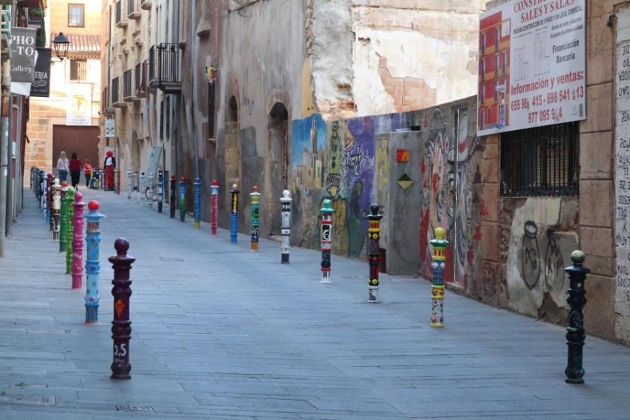 Mooiste plekjes Consta Daurada met kinderen - mooie paaltjes in Costa Daurada