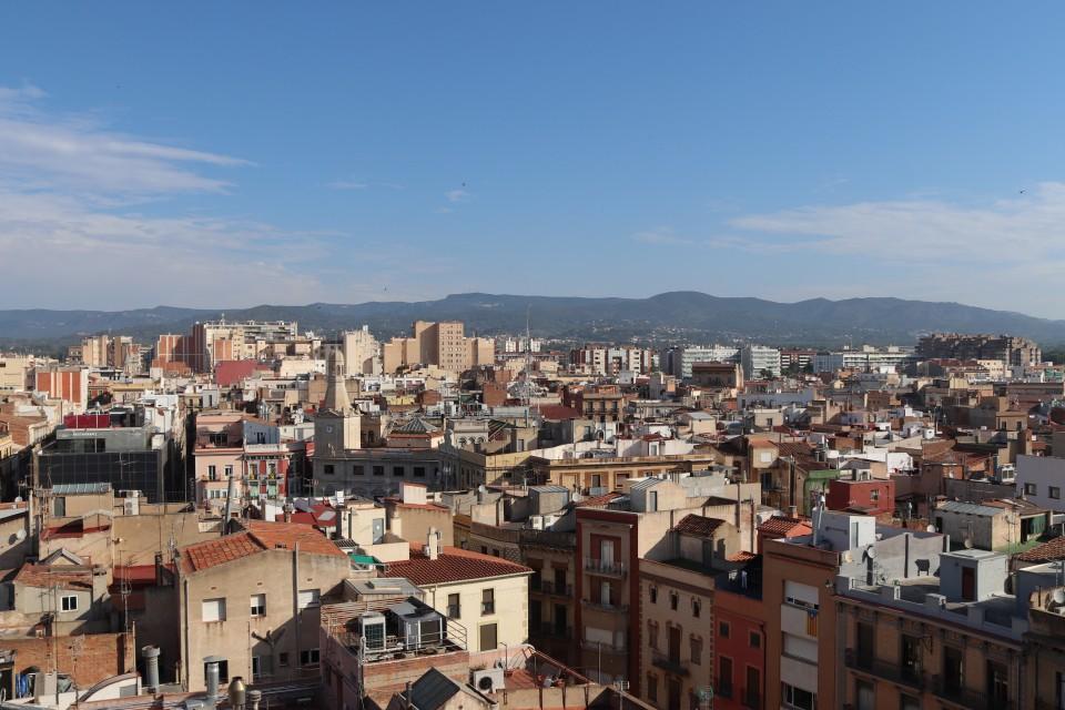 uitzicht over Reus - costa daurada uitzicht foto