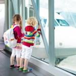 Tips: naar het vliegveld en wachten op de vlucht met kinderen