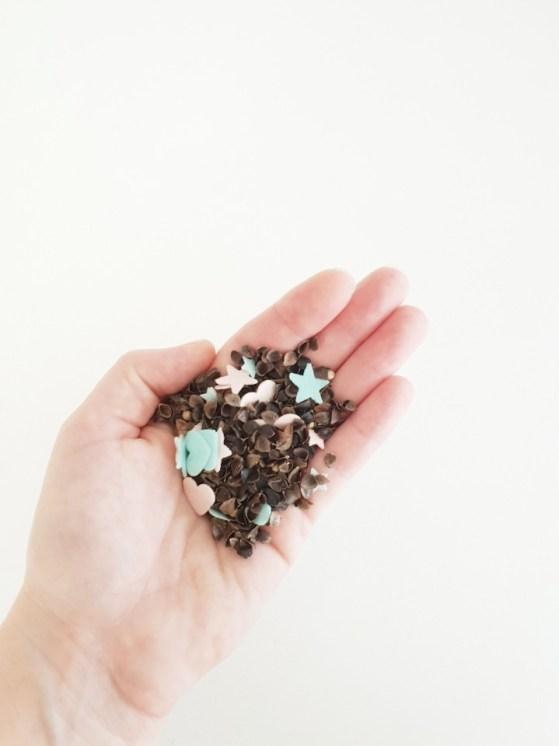 confetti van scnoeppapier maken