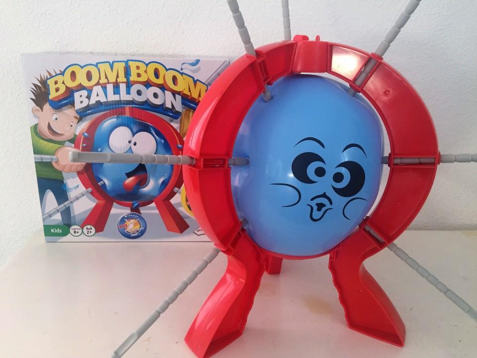 ballonnen spellen prik lek