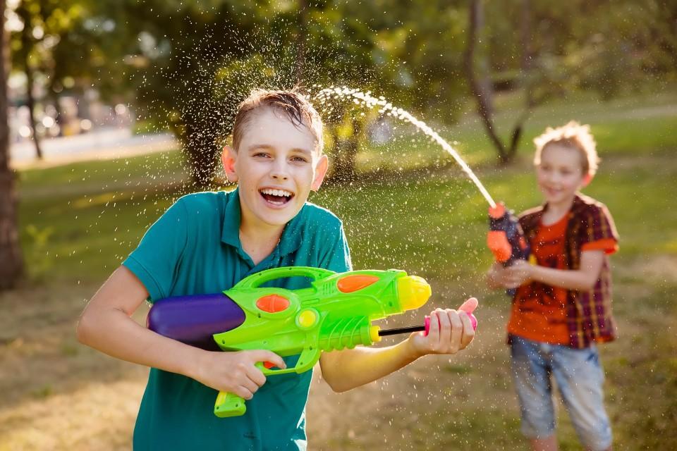 waterspelletjes voor op de camping of in de tuin