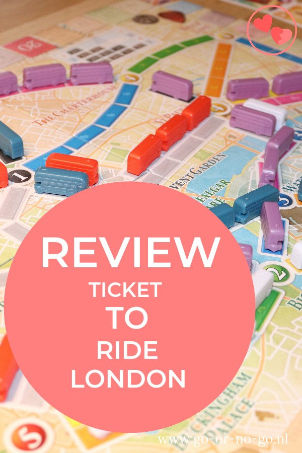 Ticket to ride london review